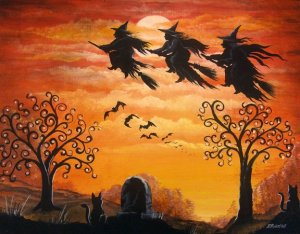 witches flight