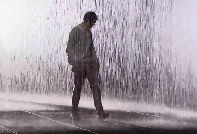 alone sad man in rain wwwimgkidcom the image kid has it