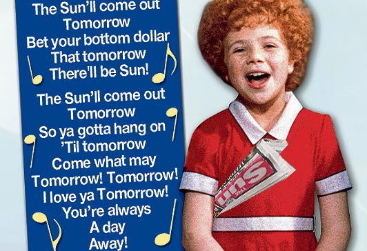Tomorrow Lyrics - Annie musical - Allmusicals.com