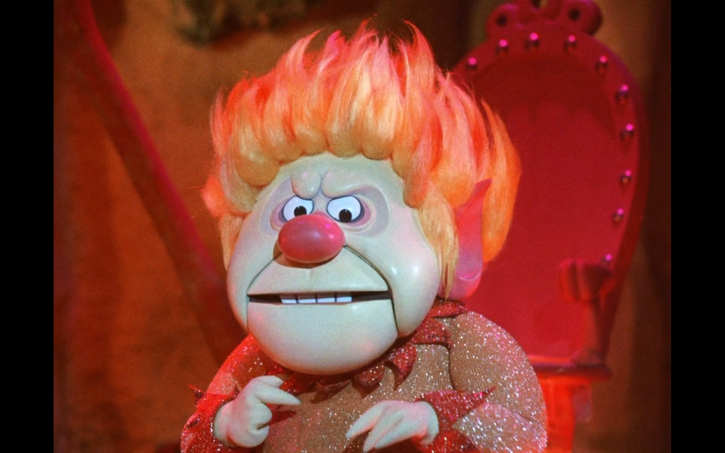 Heat Miser Reasserts His Family S Dominance Over Poor