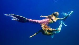 two mermaids