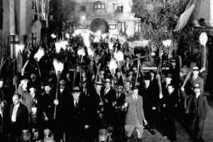 angry mob