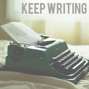 keep wrting