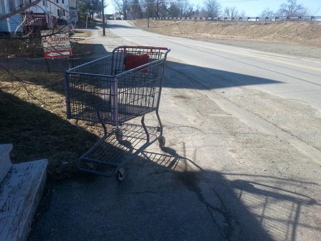 Spring cart