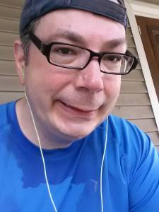 Austin sweaty