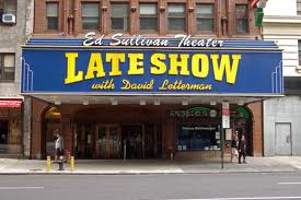 Late Show marquee