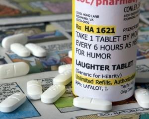 laugh meds