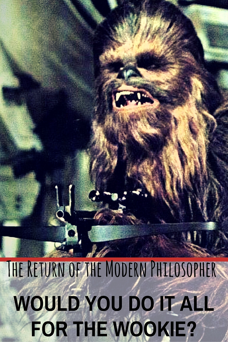 is a wookie life partner your best relationship option the return of the modern philosopher - What Do You Get A Wookie For Christmas