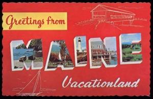 maine postcard 2