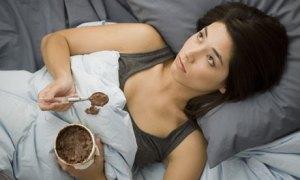 ice cream bed