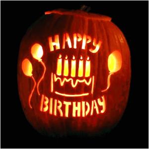 happy birthday pumpkin