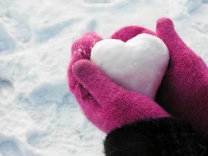 heart-snow