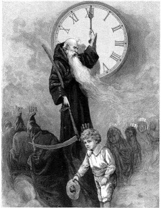 Father Time first