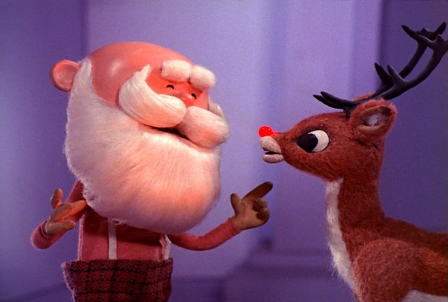 We know Rudolph is a friend of Santa, but is he also a friend of Bill?