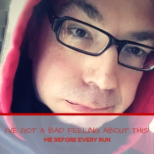 I had a bad feeling about going for my first run of the year.  It was cold, I was fat and out of shape, and I really hate running.  As humorous look at what it takes to stay healthy during a cold, Maine winter.