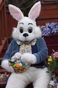 Be good, Easter Bunny! Stop trying to tempt me with your endless supply of candy!