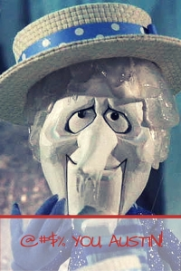 Snow Miser hate me, and I hate him. I wish he would clear the hell out of here and allow me to enjoy Spring...