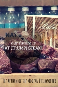 Trump Steaks are perfect for treating that black eye you might receive at a Trump rally!
