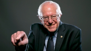 Bernie is balding. And that's why we trust him...