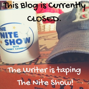 This blog is temporarily closed for a taping of The Nite Show!