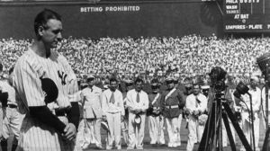 My Iron Man blogging streak has finally ended. Lou Gehrig hung up his toga for a night...