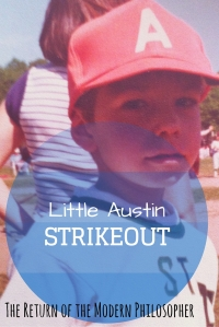 I was never a very good hitter, but I loved playing baseball.  Striking out all the time might have been horrific for my batting average, but it prepared me for life off the field.