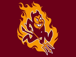 Beware the elusive Maine Sun Devil! He gets hot under the collar very quickly...