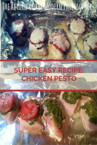 Super Easy Recipe: Chicken Pesto
