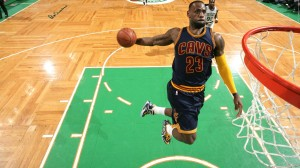 LeBron James will not win the NBA title this year...