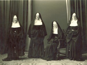 The Nuns know and see all!