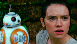 My future wife will be great with kids if her relationship with BB-8 is any indication...