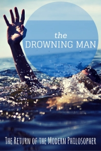 drowning, swimming, Summer Olympics, Michael Phelps, patriotism, humor, Modern Philosopher