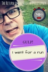 running, fitness, health, exercise, wellness, humor, Modern Philosopher