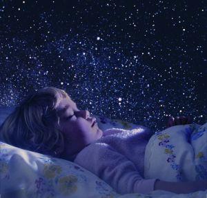 Sleeping under the stars...