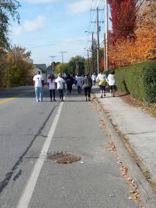 health, fitness, running, color run, charity, fall foliage, humor, Modern Philosopher