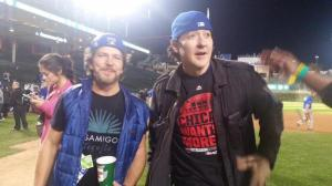 Eddie Vedder, John Cusack, Cubs, National League Pennant, World Series, short story, The Devil, humor, Modern Philosopher