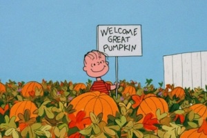 Linus, The Great Pumpkin, Halloween, time travel, Doc Brown, Donald Trump, short story, humor, Modern Philosopher