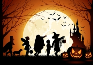 Halloween, trick or treat, short story, The Devil, humor, Modern Philosopher
