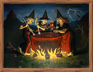 witches, Halloween, politics, Hillary Clinton, humor, Modern Philosopher