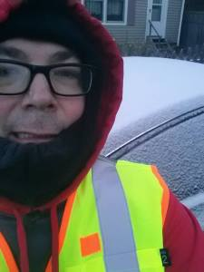 snow, ice, winter, Maine, running, humor, Modern Philosopher