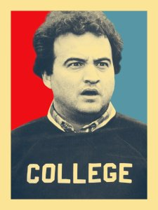 John Belushi, Animal House, Electoral College, Donald Trump, Election Day, Trump University, humor, business, Modern Philosopher