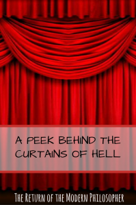 short story, The Devil, Hell, Sundays With Satan Short Story Series, Thanksgiving, behind the scenes, humor, Modern Philosopher