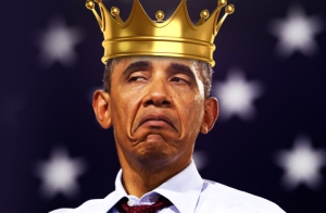 King Obama, President Obama, Queen Michelle, White Castle, Donald Trump, politics, humor, satire, Modern Philosopher