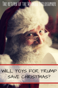Santa Claus, Christmas, Donald Trump, humor, satire, Modern Philosopher