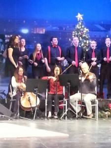The Nite Show, OPUS Trio, MCI High School Chorus, Christmas, humor, Modern Philosopher