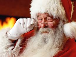 Santa Claus, The Devil, Christmas, chicken wings, food, short story, humor, Modern Philosopher