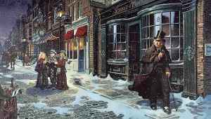 Charles Dickens, A Christmas Carol, Christmas, Scrooge, The Devil, writing, short story, Modern Philosopher