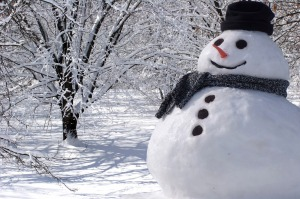 snowman, winter in Maine, Christmas, The Devil, short story, Modern Philosopher