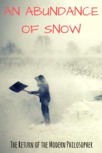 Winter Storm Orson, blizzard in Maine, short story, The Devil, humor, Modern Philosopher