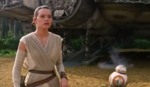 Rey, Star Wars, Daisy Ridley, Aliens, Trump, humor, Modern Philosopher